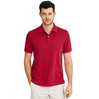 Deals on Club Room Mens Interlock Polo Shirt