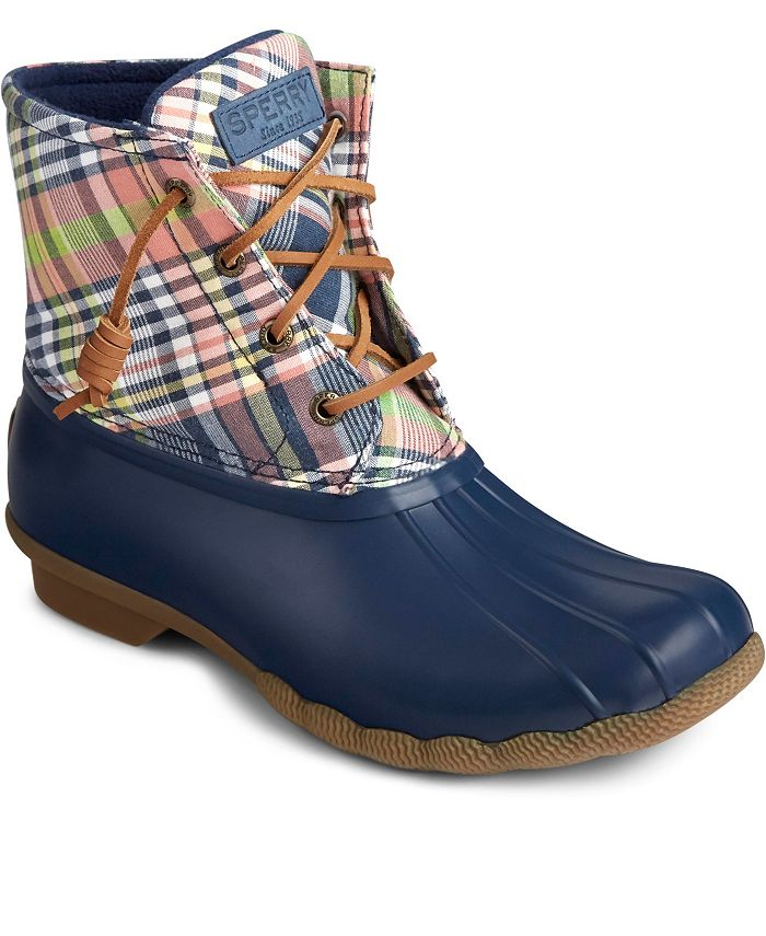 Sperry - Saltwater Washed Plaid Boot