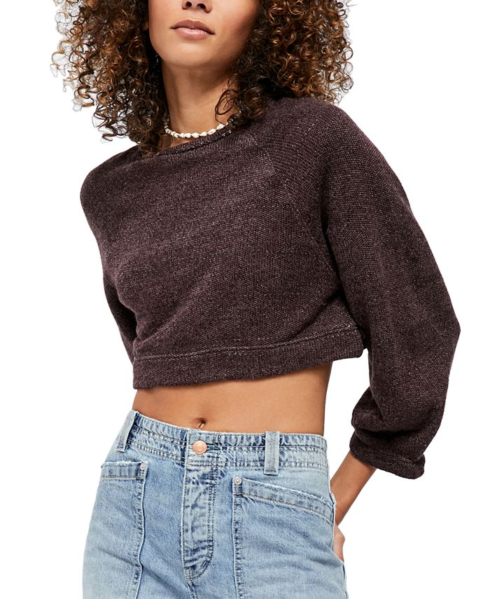 Free People - Jade Cropped Sweater