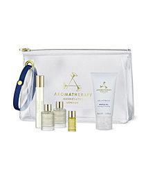 Aromatherapy Associates The De-Stress Edit 5-Piece Travel Set
