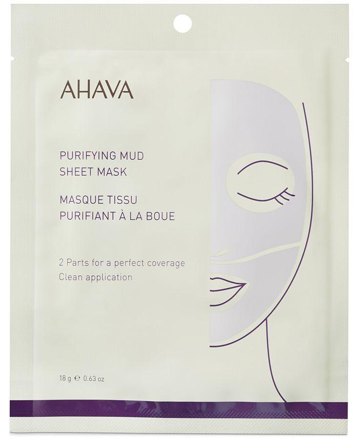 Ahava - Purifying Mud Sheet Mask, 0.63-oz.