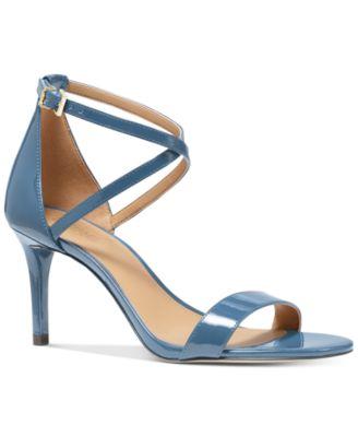 Michael Kors Ava Mid-Heel Dress Sandals