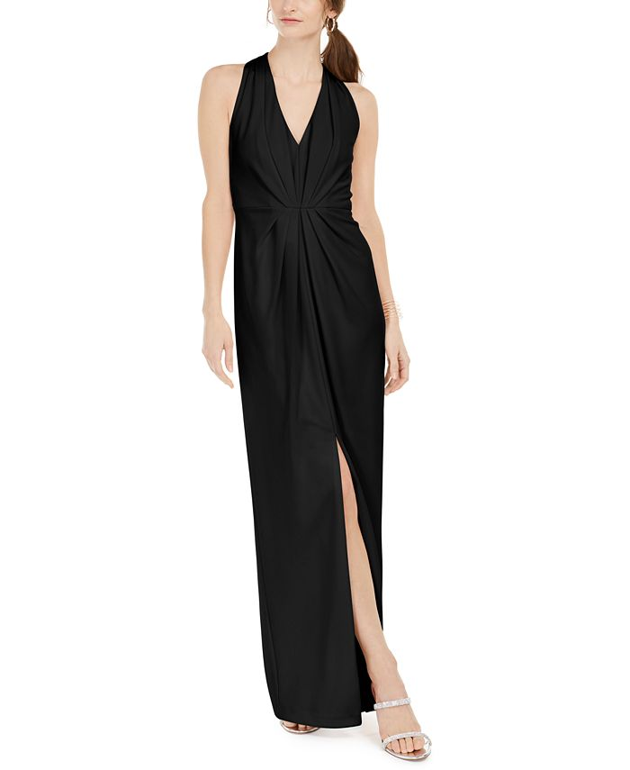Adrianna Papell - V-Neck Gown