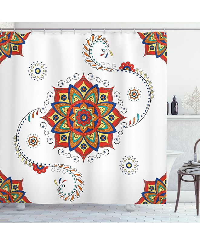 Ambesonne Lotus Shower Curtain