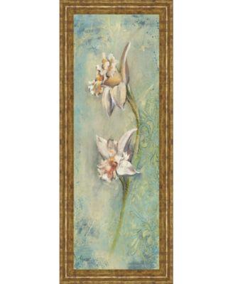 Floral Xil by Lee Hazel Framed Print Wall Art - 18