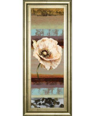 Elemental Poppy I by Selina Werbelow Framed Print Wall Art - 18