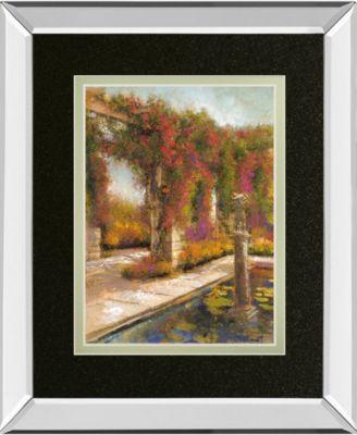 English Garden I by Patrick Mirror Framed Print Wall Art, 34