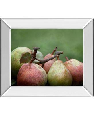 Comice Pear I by Rachel Perry Mirror Framed Print Wall Art, 22