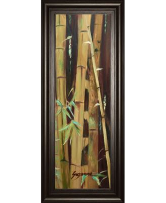 Bamboo Finale I by Suzanne Wilkins Framed Print Wall Art - 18