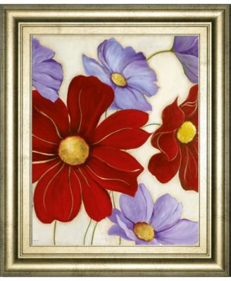 Lavender and Red I by Tava Studios Framed Print Wall Art, 22