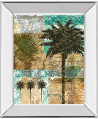 Palm II by Maeve Fitzsimons Mirror Framed Print Wall Art, 22