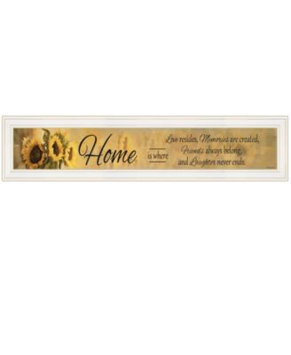 Home ISE by Robin-Lee Vieira, Ready to hang Framed Print, Black Frame, 39