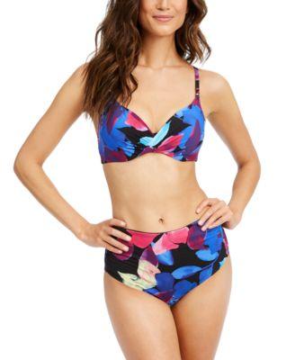 Liquid Underwire Floral Bikini Top