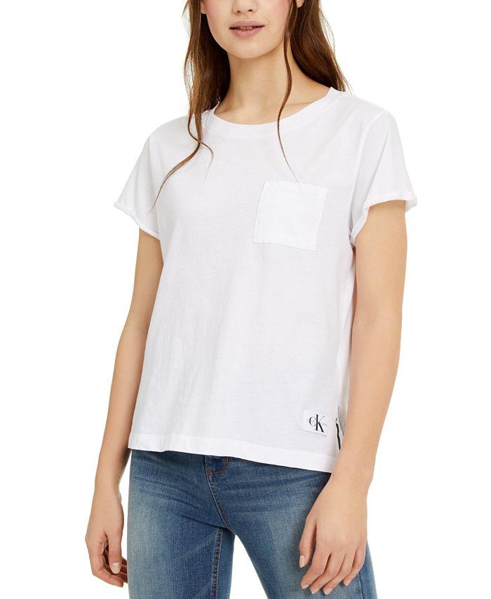 Calvin Klein Jeans - Chest-Pocket Cotton T-Shirt