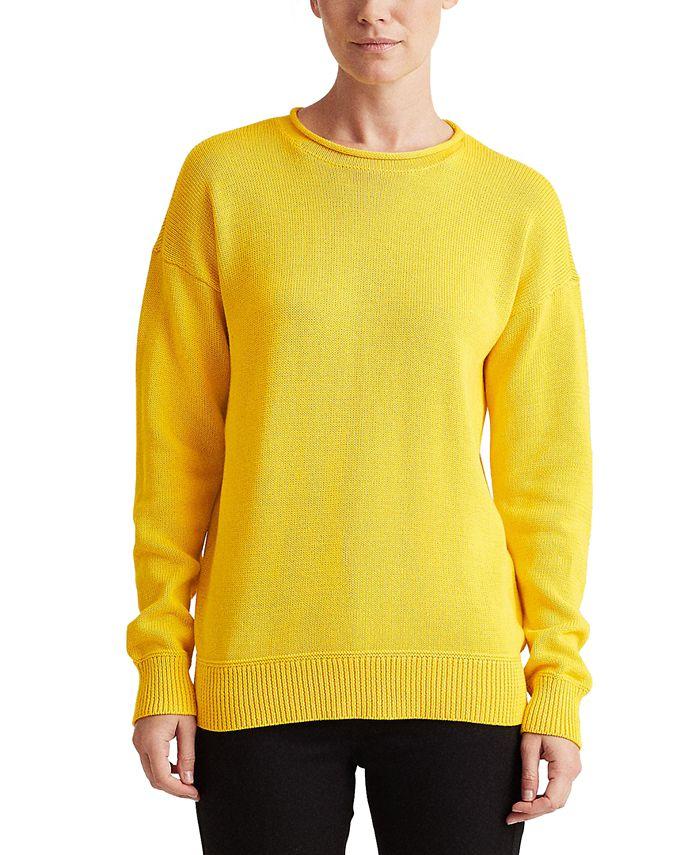 Lauren Ralph Lauren - Combed Cotton Sweater