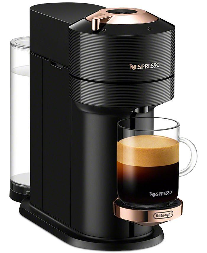 Nespresso - Vertuo Next Premium Coffee and Espresso Maker by DeLonghi, Black Rose Gold