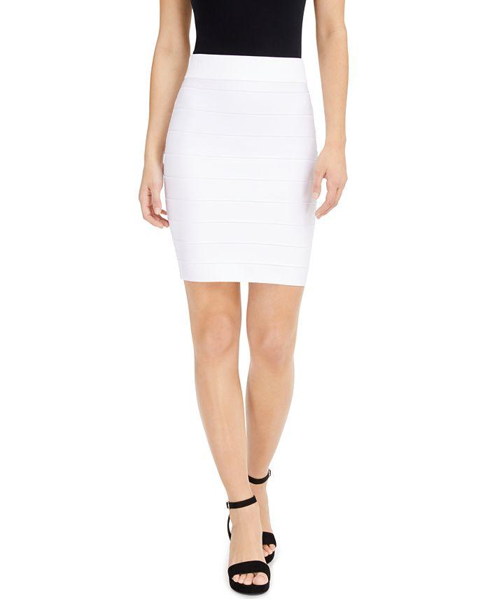 Bar III - Bandage Mini Skirt