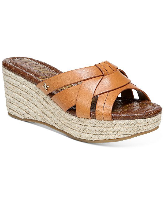 Sam Edelman - Women's Ramona Wedge Sandals