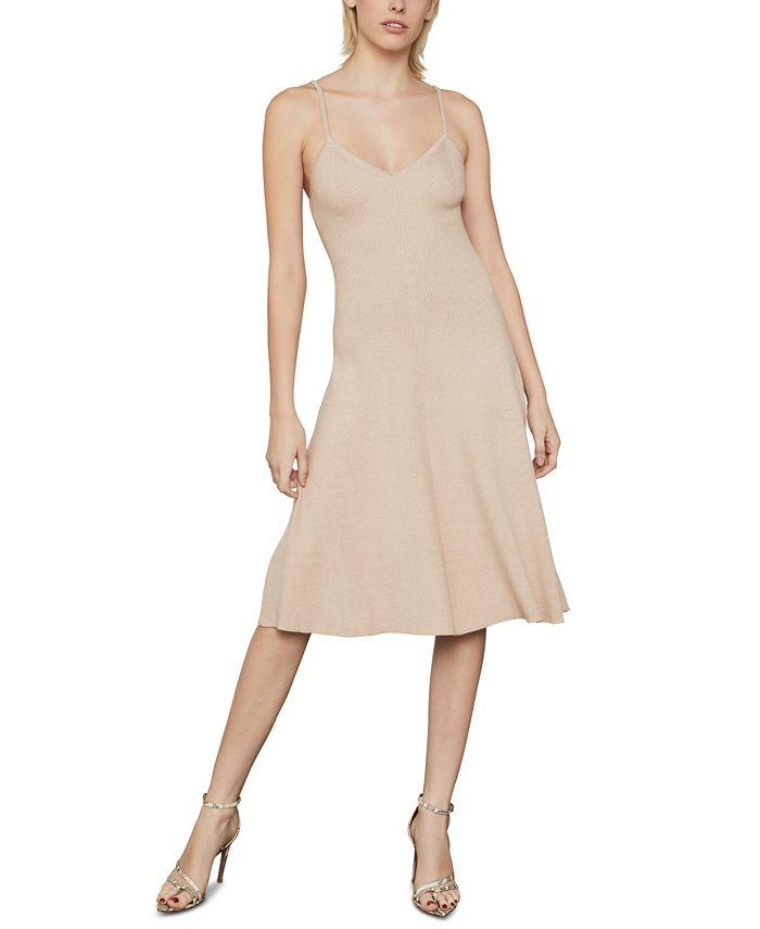 BCBGMAXAZRIA - Knit A-Line Midi Dress