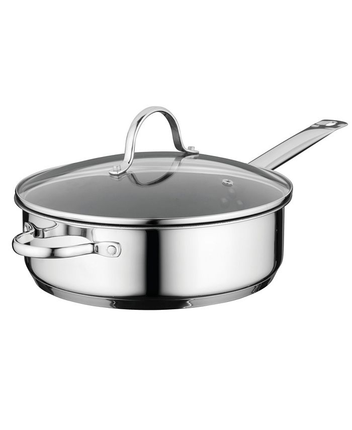 """BergHOFF - Comfort Stainless Steel Nonstick  10"""" Covered Deep Skillet"""