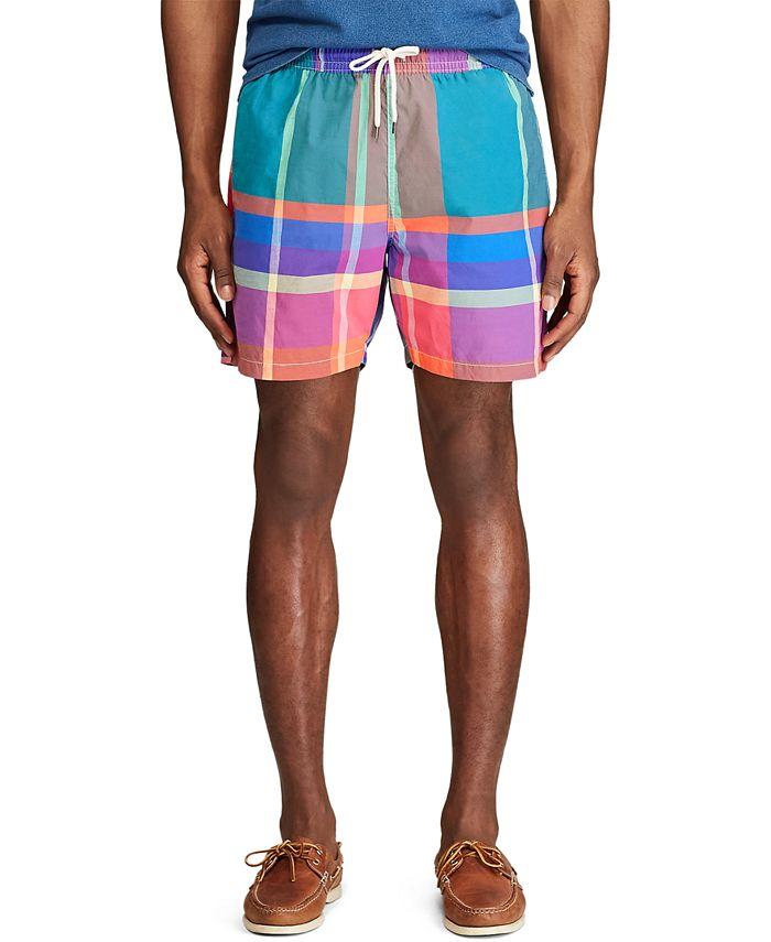 """Polo Ralph Lauren - Men's 5-½"""" Inch Traveler Swim Trunks"""