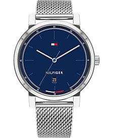 Tommy Hilfiger Men's Stainless Steel Mesh Bracelet Watch 43mm