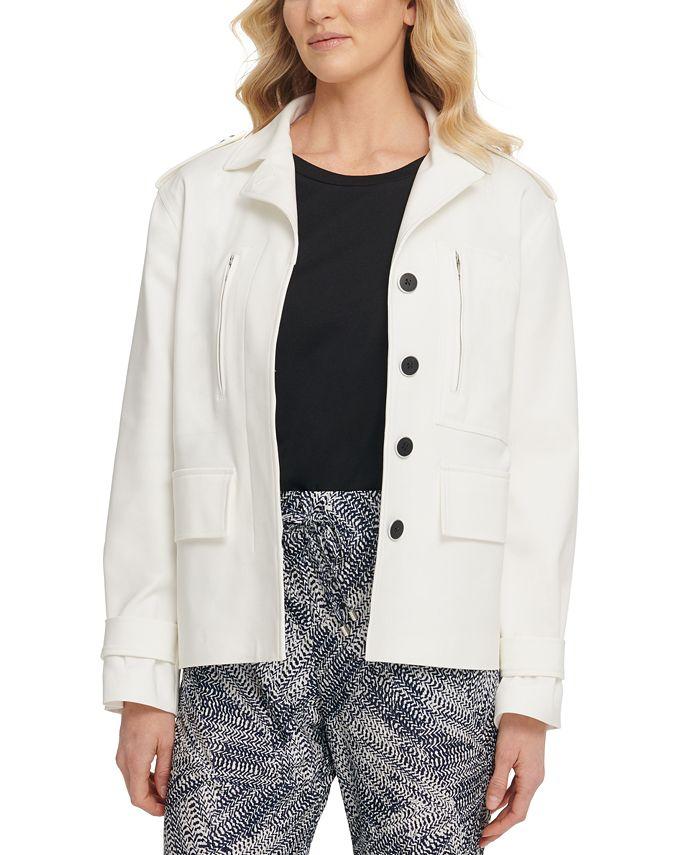 DKNY - Collared Utility Jacket