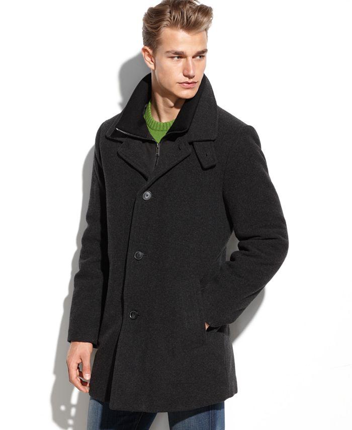 Calvin Klein - Coat, Coleman Zipped Bib Coat
