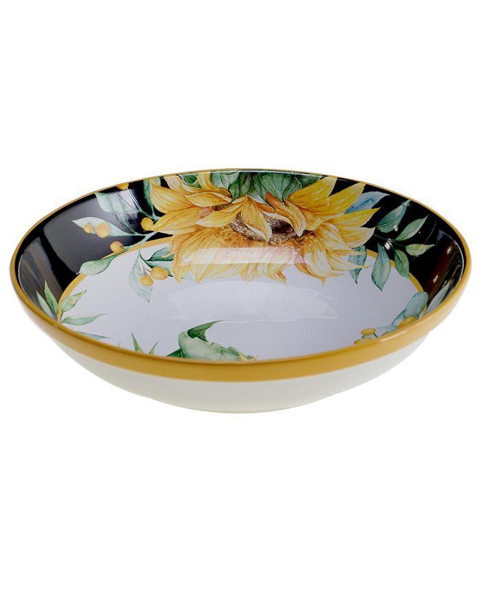 Tracy Porter - Sunflower Fields Serving/Pasta Bowl