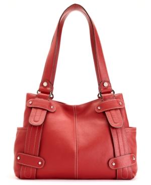 Tignanello Perfect 10 Leather Studded Shopper