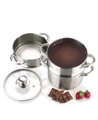 Разтопяване на шоколад на водна баня
