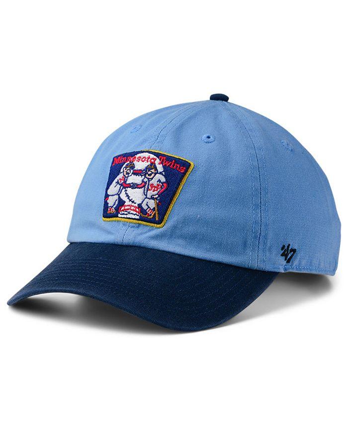 '47 Brand - Minnesota Twins Cooperstown CLEAN UP Cap