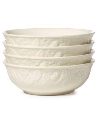 Mikasa Dinnerware, Set of 4 English Countryside Cereal Bowls