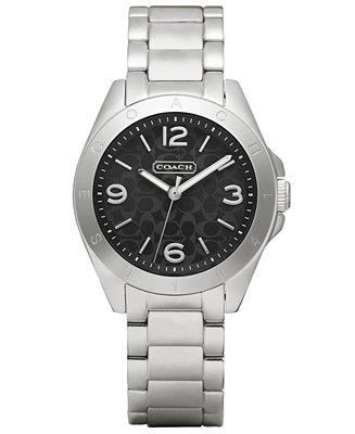 Coach Women S Tristen Stainless Steel Bracelet Watch 32mm