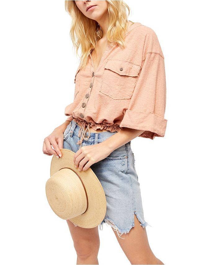 Free People - Eliza Dolman-Sleeve Shirt