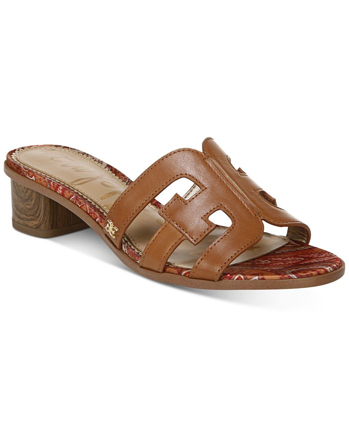 Sam Edelman - Women's Illie Logo Dress Sandals