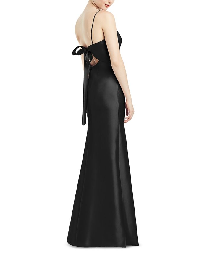 Alfred Sung - Bow-Back Gown