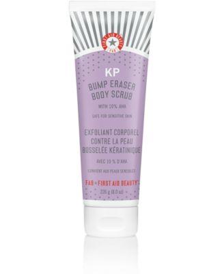 KP Bump Eraser Body Scrub w. 10% AHA, 8.0 oz.