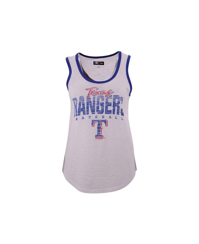 G-III Sports - Texas Rangers Women's MVP Tank Top