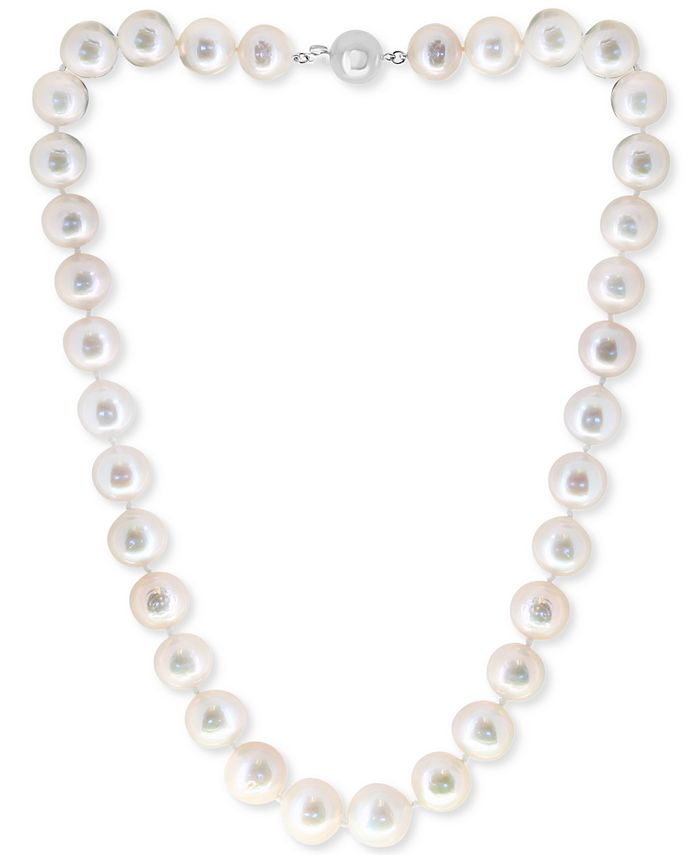 """EFFY Collection - Cultured Freshwater Pearl (11-13mm) 17"""" Collar Necklace"""