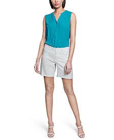 NYDJ Tummy-Control Denim Shorts