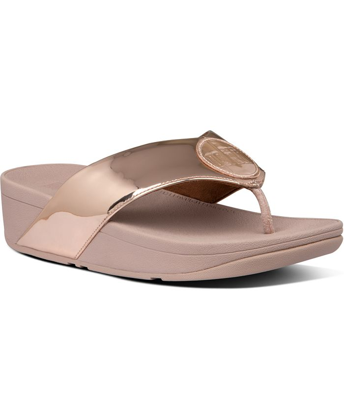 FitFlop - Demelza Logo Toe-Thong Sandals