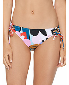 Raisins Juniors' Lucky Day Sweet Side-Tie Bikini Bottoms