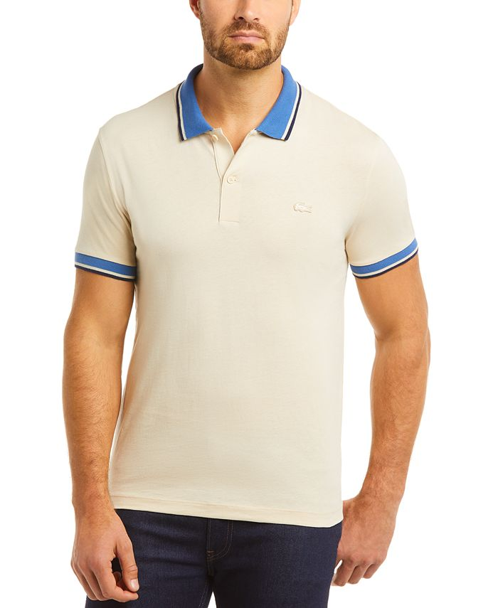 Lacoste Men's Solid Polo Shirt, Created for Macy's & Reviews ...