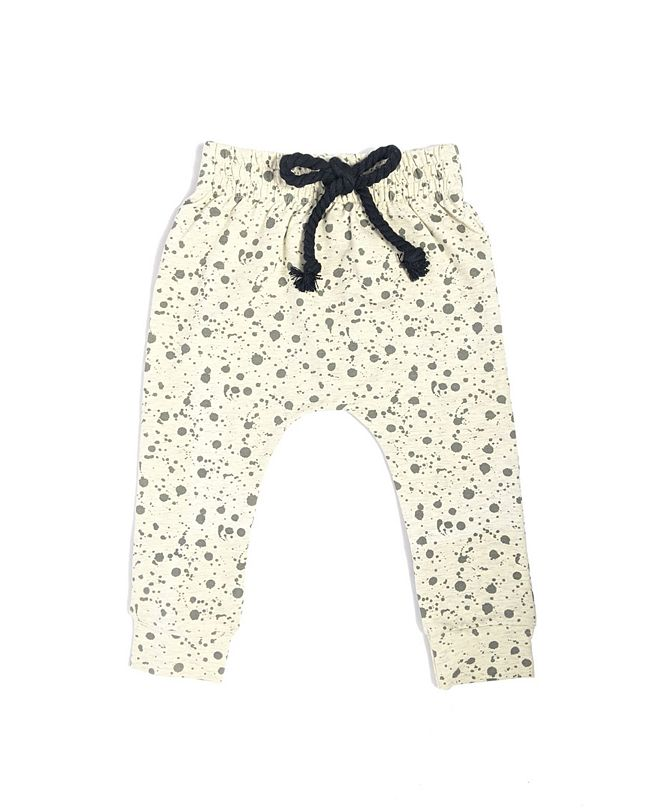 Earth Baby Outfitters Baby Boys and Girls Organic Cotton Sand Splashy Pant