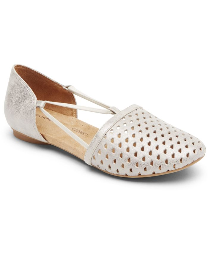 Rockport - Women's Reagan Perforated Flats