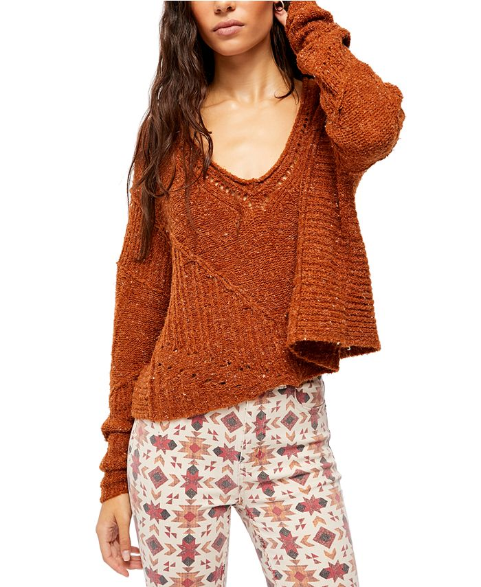 Free People - Seashell Cotton Sweater