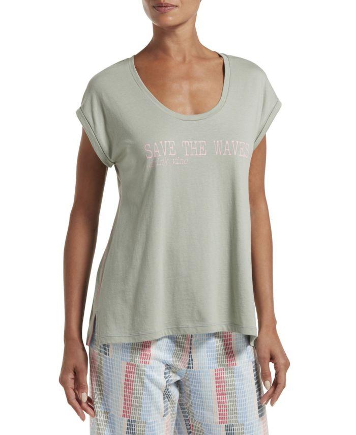 Hue Save The Waves Tee Shirt & Reviews - Bras, Panties & Lingerie - Women - Macy's