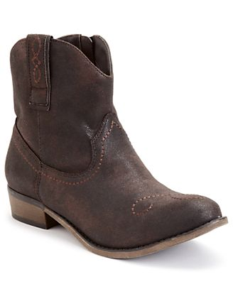 American Rag Coralle Cowboy Booties for Men's