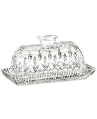 Waterford Serveware, Lismore Covered Butter Dish